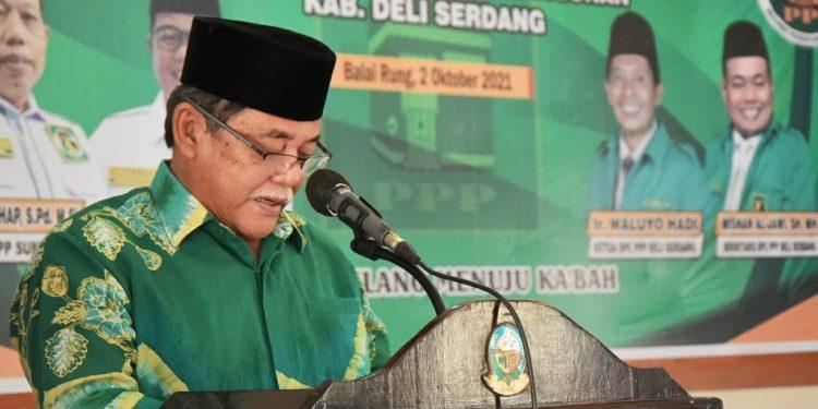Wakil Bupati Deli Serdang Buka Musycab PPP Deli Serdang